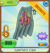 Bahari-Bargains Superhero-Cape Grey-Blue
