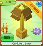 Cardboardlampon