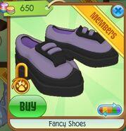Fancy Shoes (Light Indigo-Purple)
