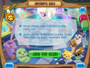 Members-Only-Ad Host-Parties