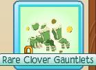 Trade Rare-Clover-Gauntlets