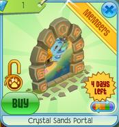 Crystal Sands Portal orange