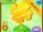 Giant Golden Four-Leaf Clover