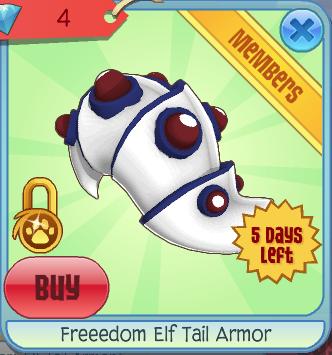 Freedom Elf Tail Armor Animal Jam Wiki Fandom Powered By Wikia