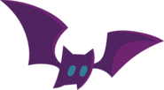 Pet bat purple