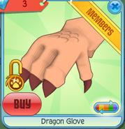 Dragon Glove orange
