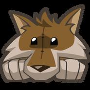 Wolfplushbrown