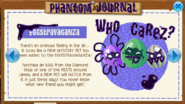 Eggstravaganza Phantom Journal Pet Crow