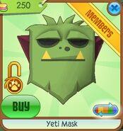 Yeti Mask new green