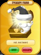 Meet-Cosmo Raccoon Hat-And-Beard Grey