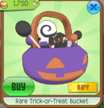 Rare Trick-or-Treat Bucket