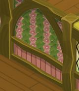 Spring-Cottage Pink-Striped-Walls