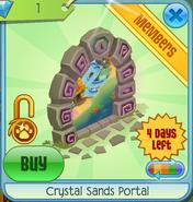 Crystal Sands Portal purple