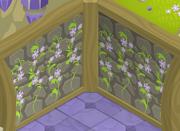 Fantasy-Castle Green-Slime-Wall