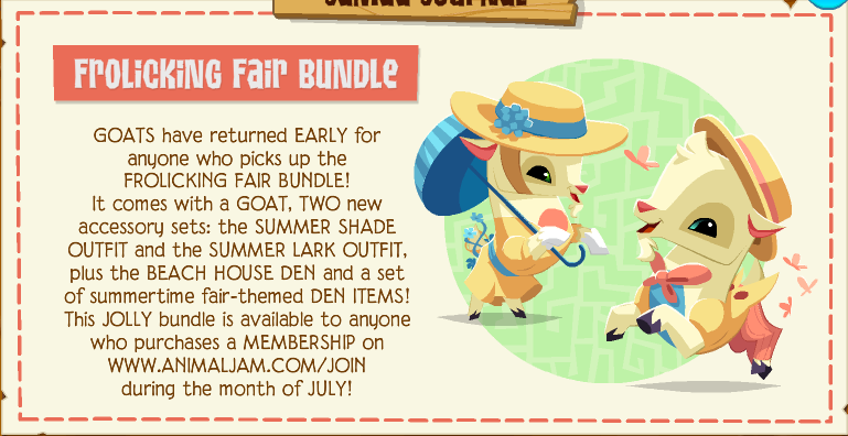 Frolicking Fair Bundle | Animal Jam Wiki | FANDOM powered by
