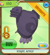 Shop Knight-Armor Purple