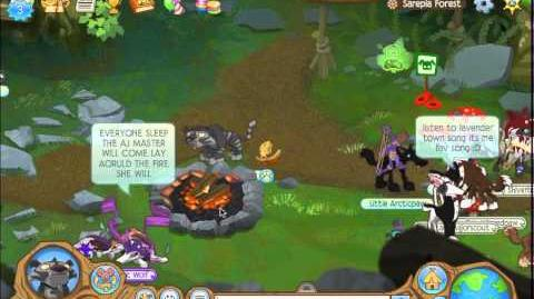 Animal Jam Sarepia Forest