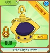 Animal Jam Rare Kings Crown