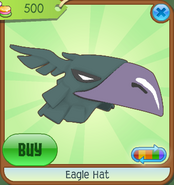Museum-Shop Eagle-Hat Green