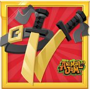 DailyExplorer-RIM Rare Dual Samurai Swords