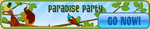 Paradise party banner