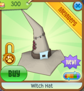Witch Hat new tan