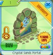 Crystal Sands Portal green