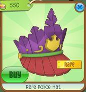 Rare police hat