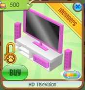 HD Television pink