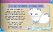 Arctic fox bundle