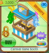 Carnival Game Booth 2