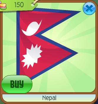 Nepal (Flag) | Animal Jam Wiki | FANDOM powered by Wikia