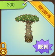 Lit Baobab Tree Animal Jam Wiki Fandom Powered By Wikia