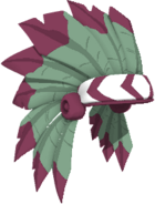 Magenta Headdress