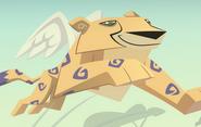 AJ Cheetah with wings