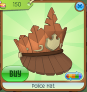 Shop Police-Hat Orange