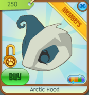 Shop Arctic-Hood Teal 2011