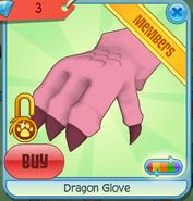 Dragon Glove pink