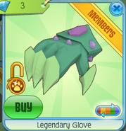 Legendary Glove Green