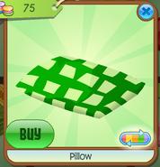 Pillow green