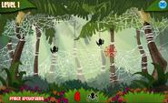 Gameplay of Spider Zapper
