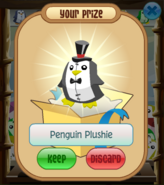 The-Claw Penguin-Plushie Top Hat