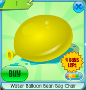 Wondrous Water Balloon Bean Bag Chair Animal Jam Wiki Fandom Frankydiablos Diy Chair Ideas Frankydiabloscom