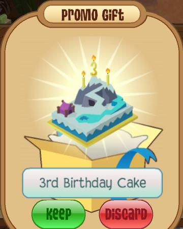 Miraculous 3Rd Birthday Cake Animal Jam Wiki Fandom Funny Birthday Cards Online Overcheapnameinfo
