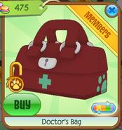 Medical-Center-Shop Doctors-Bag Red