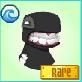 Item Nessie-Mask Rare-Black