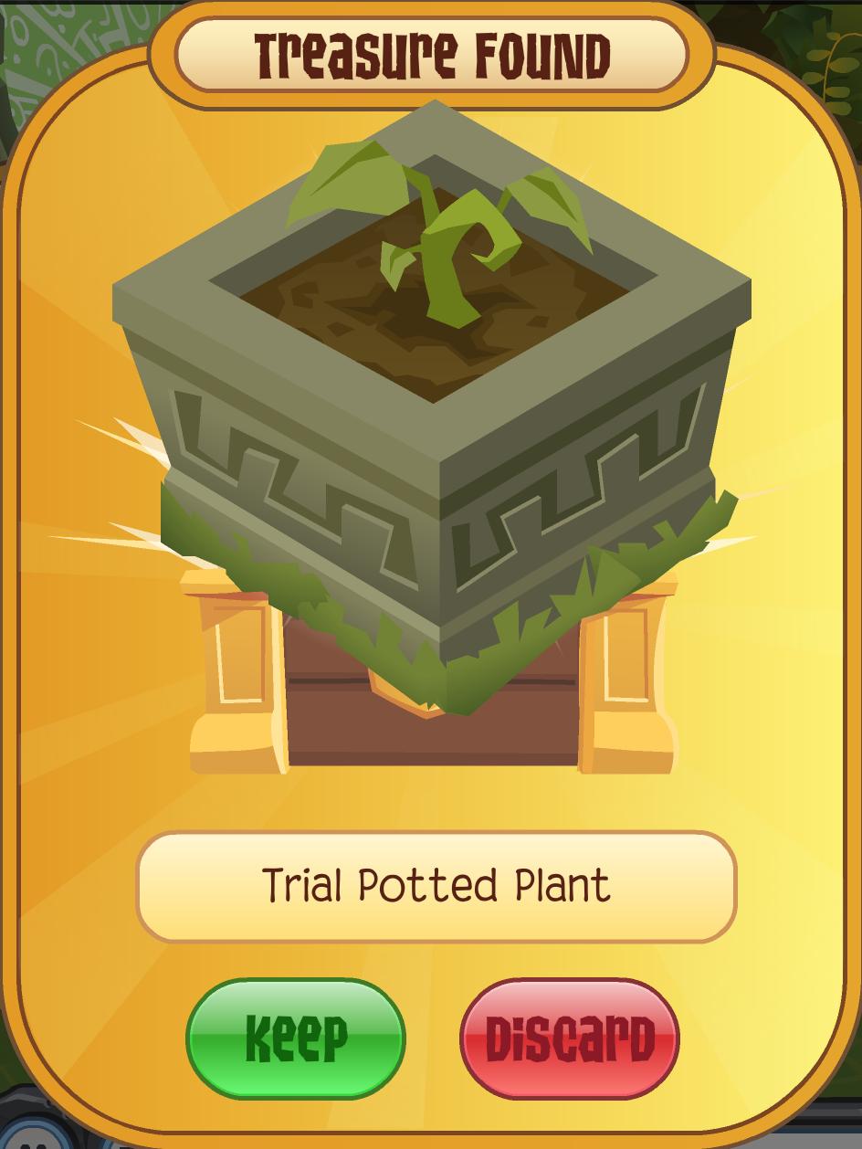 Trial Potted Plant Animal Jam Wiki Fandom Powered By Wikia