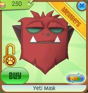 Yeti Mask new red