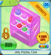 BHS Jelly Display Case pink