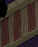 Greelys-Hideout Dust-Striped-Walls
